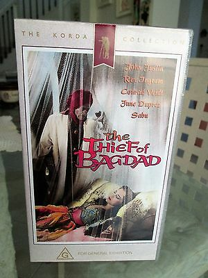 The Thief of Bagdad  - VHS - VIDEO TAPE -Collectors Item -- FREE POSTAGE