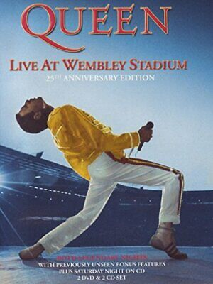 Queen - Live at Wembley 25th Anniversary [2DVD+2CD Deluxe Edition... - DVD  UEVG
