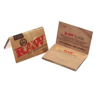 3 Packs - Raw Natural 1 1/2 Papers Rolling Papers