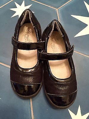 primigi 28 Girls US Size 11, Black Mary Janes