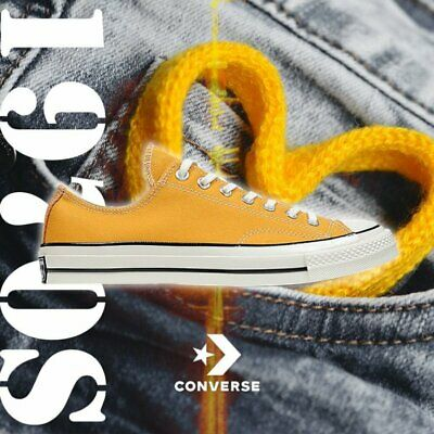 CONVERSE CHUCK TAYLOR All Star Low 1970s Sunflower Yellow FS