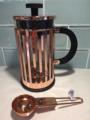 Starbucks Copper Bodum 8 Cup French Press And Scoop