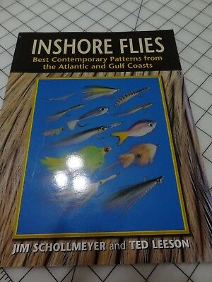 Inshore Flies softcover book by Schollmeyer and Leeson copywright 2000