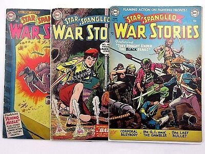 Dc Star Spangled War Stories 7 Issue Lot - 10 30 45 84 87 114 120