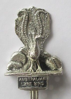 Australian Lyre Bird Collectors Spoon