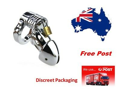 Male Chastity Device Adjustable 5 Size Ring  Free Post ..Free Post