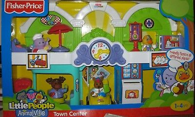 Fisher Price Little People Animalville Town Center
