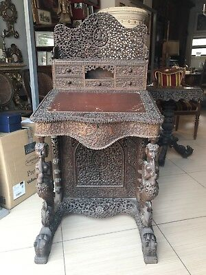 19th Century Anglo India Desk