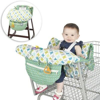 High Chair Grocery Shopping Cart Cover Baby Toddlers Safety Harness Convenient