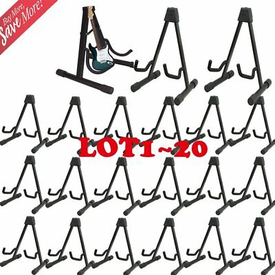 LOT1~20 Musician's Gear A-Frame Acoustic Guitar Stand 2-Pack - USA SK