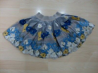 Monnalisa Floral Embroidered Skirt Age 4 Yrs