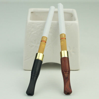 Wooden Cigarette Holder Mouthpiece Slim Size Unisex Good Nice Gift 58mm/2.3''