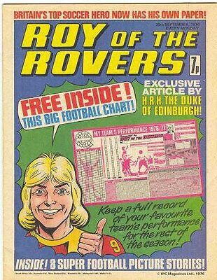 Roy Of The Rovers Comics Collection On Dvd 260 Issues British Football Comic Uk
