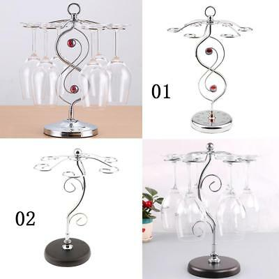 2pcs Wine Glass Hanger Rack Bar Tools Accessories Wine Glass Holders Decor
