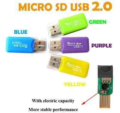 Micro SD USB 2.0 MMC MS M2 TF SDHC Card Readers Adapters PC Computer Laptop