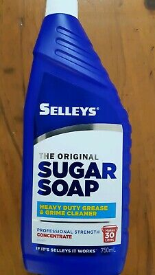 SELLEYS Original Sugar Soap 750ml Concentrate Grease & Grime Cleaner