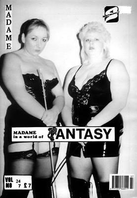 MADAME In A World Of Fantasy Vol.24 #7 - Vintage Magazine by Swish Publications