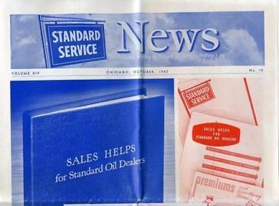 The Standard Service News  Illustrated Monthly Magazine AMOCO October 1942