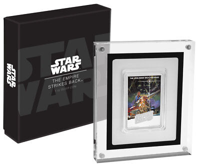 2017 Niue Star Wars Posters - Empire Strikes Back 1 oz Proof Silver $2 SKU48935