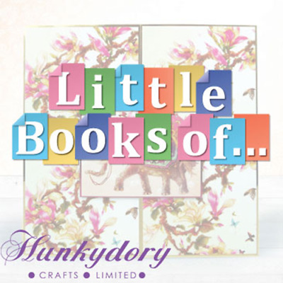 Hunkydory Little Book of.... Set of 24 Sample Toppers *FREE POSTAGE*
