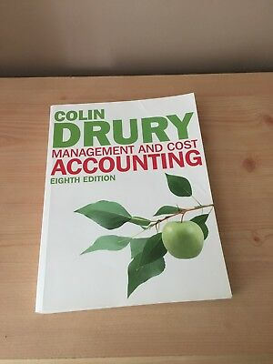 Management and Cost Accounting - 8th Edition - Colin Drury