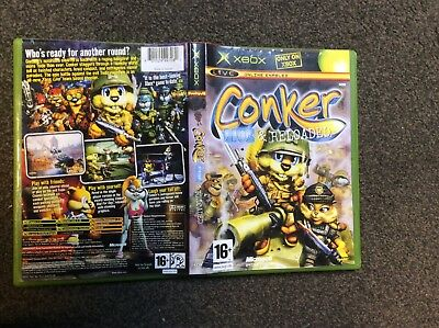 Conker Live And Reloaded Xbox Classic