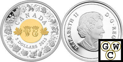 2013 *Silver* 'Birth of the Royal Infant' Proof $5 Silver Coin .9999 Fine(13269)