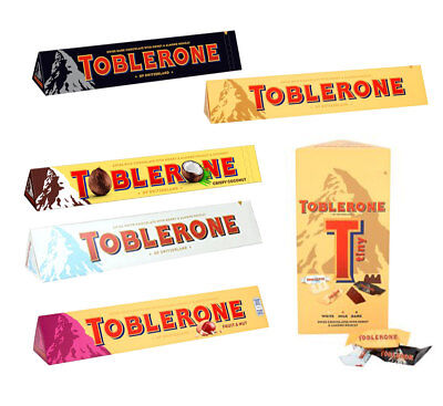 Special Offer Now On - Toblerone Large 360G Bar And Toblerone Tiny Variety Pack!