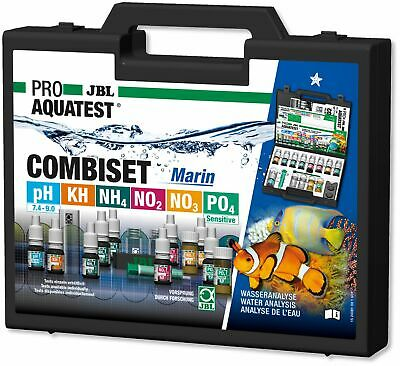 JBL Test Combi Set Marin - Starter Test Suitcase for Seawater Aquariums