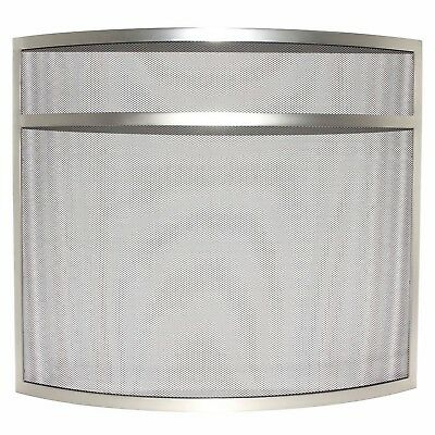 Home Discount Fire Guard Nickel FREE DELIVERY Modern