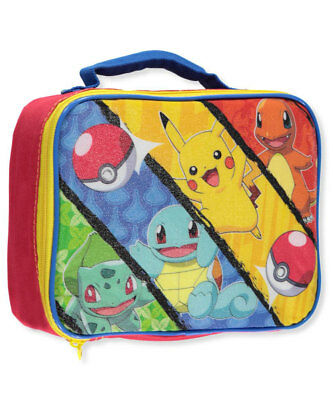 "Pokemon ""Monster Capture"" Insulated Lunchbox"