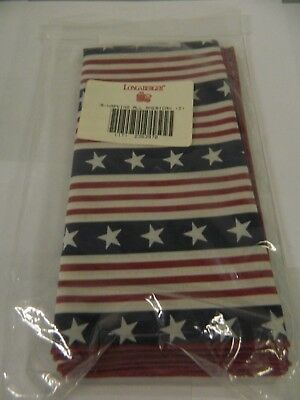 Longaberger All American Napkins s/2 #2363970