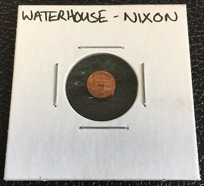 Richard Nixon Miniature Mini Penny. Getting Smaller USA United States One 1 Cent