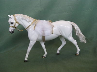 "Peter Stone Horse ""Angel"" 2001 Holiday Pony NIB See all pictures!"