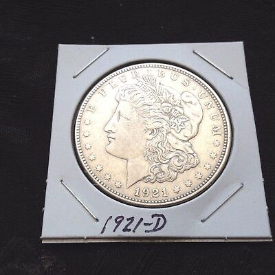 1921-D   Morgan Silver Dollar You Be The Judge