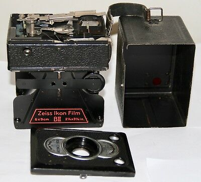 Zeiss Ikon Box Tengor BII 6x9cm For Parts Only