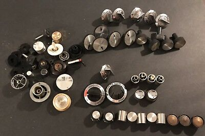 Vintage Dials Knobs Lot Stereo Radio Stove Appliance