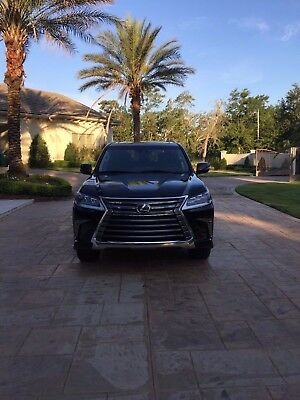 2017 Lexus LX  2017 LEXUS LX 570 Practically Brand New!!