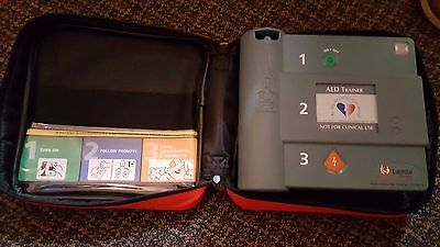 Heartstream Philips Trainer 2 AED Training System w/ pads