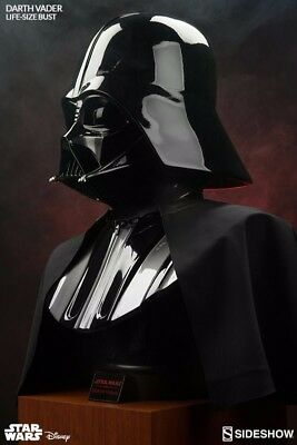 Sideshow Collectibles Darth Vader Bust 1:1 Scale Star Wars highly collectible!