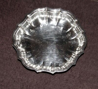 Vintage Silverplate Dish - Chippendale No. 6395 - By International Silver Compan