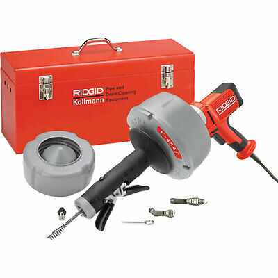 Ridgid K45 Variable Speed Drain Cleaning Gun & Accessory Set 240v