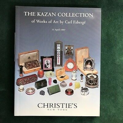 """Christie's Catalog """"The Kazan Collection of Works of Art by Carl Faberge"""""""