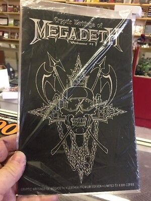 Cryptic Writings of Megadeth Volume #1 Leather Premium Variant Bagged Chaos