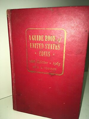 A Guide Book United States Coins - 18th Edition • 1965