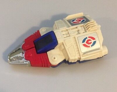 Vintage Tomy G1 Transformer Pull-Back Spaceship - Drives And Walks!!