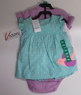 NEW Carter's Baby Clothing Diaper Cover Set 4 Pieces 24 18 Months Girl
