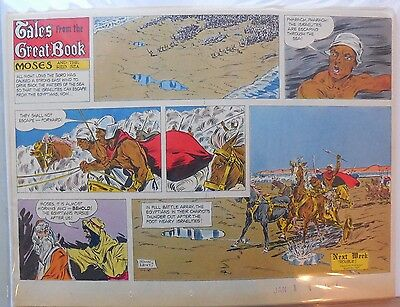 (47) Tales from the Great Book by John Lehti from 1967 Half Page Size!