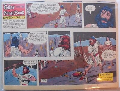 (17) Tales from the Great Book by John Lehti from 1968 Half Page Size!