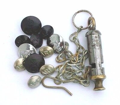 The City Patent Whistle With Chain & Hook And Cd + Arp Buttons